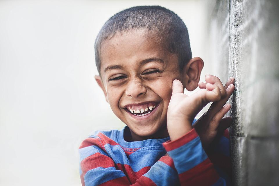 Africa, Boy, Child, Happiness, Laugh, Portrait