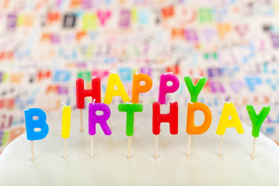 Happy Birthday, Cake, Candle, Celebrate, Celebrating