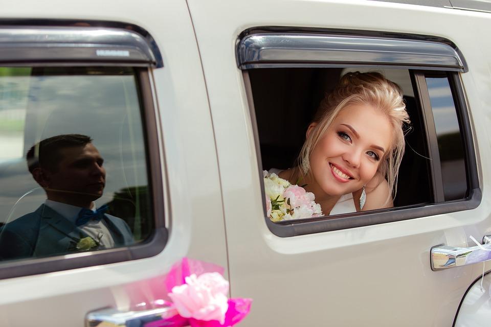 Wedding, Bride, Happy, Beautiful