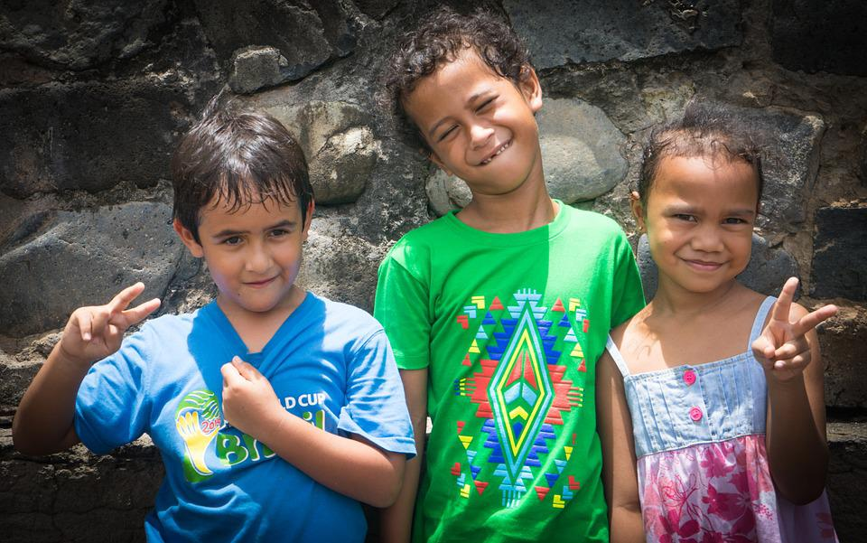 Marquesas, Children, French Polynesia, Happy, Portrait