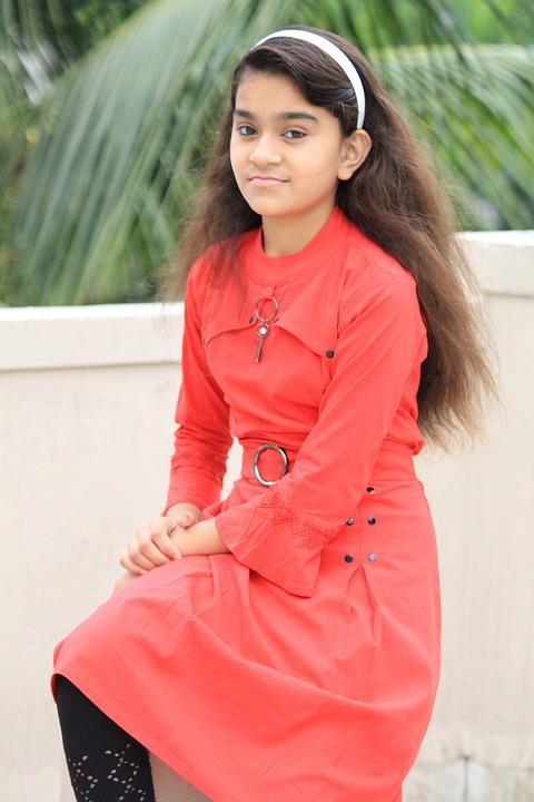 Cute Girl, Indian Girl, Happy Girl, Smile, Female, Face