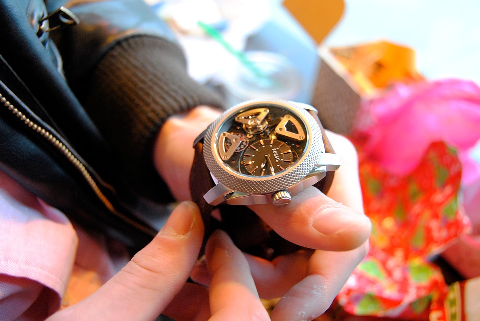 Watch, Christmas, Gifts, Hand, Holiday, Xmas, Happy