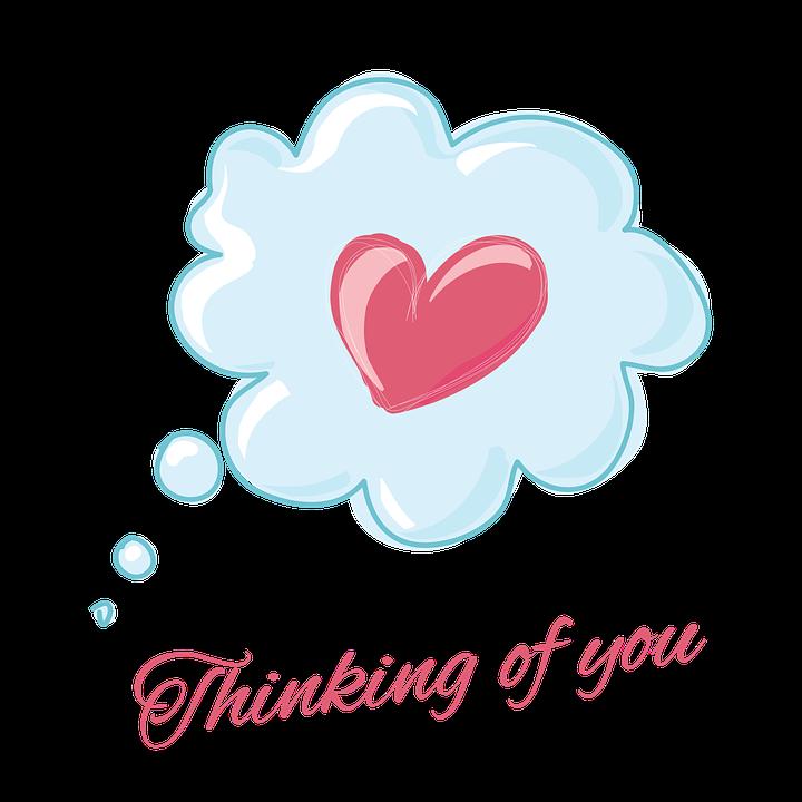 Love, Thinking, Heart, Happy, Cute