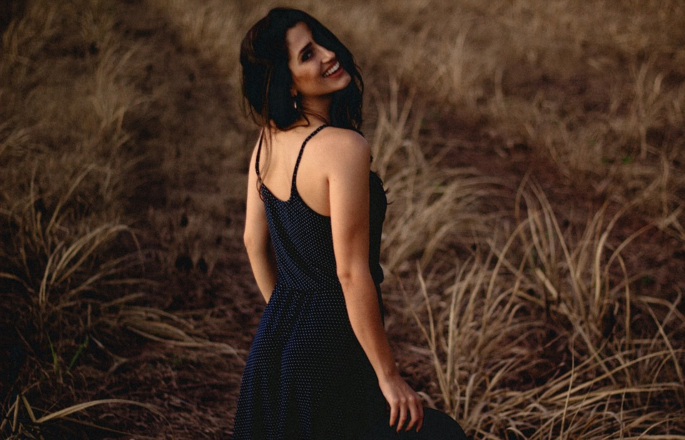 Free photo Happy Smile Woman Back Shoulder Lady People - Max Pixel
