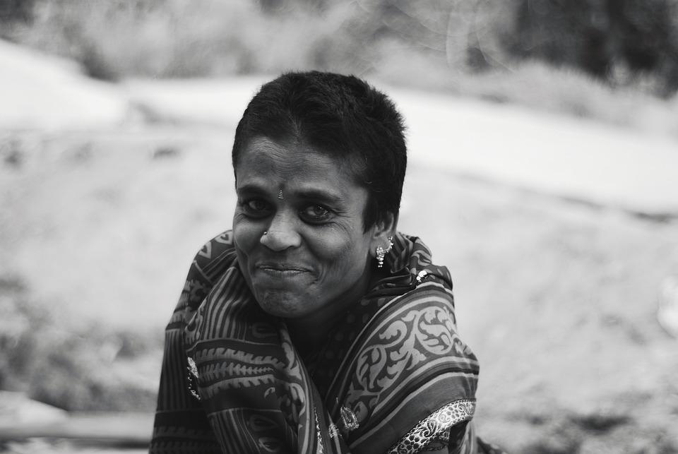 Village, Happy, Indian, Women, Rural