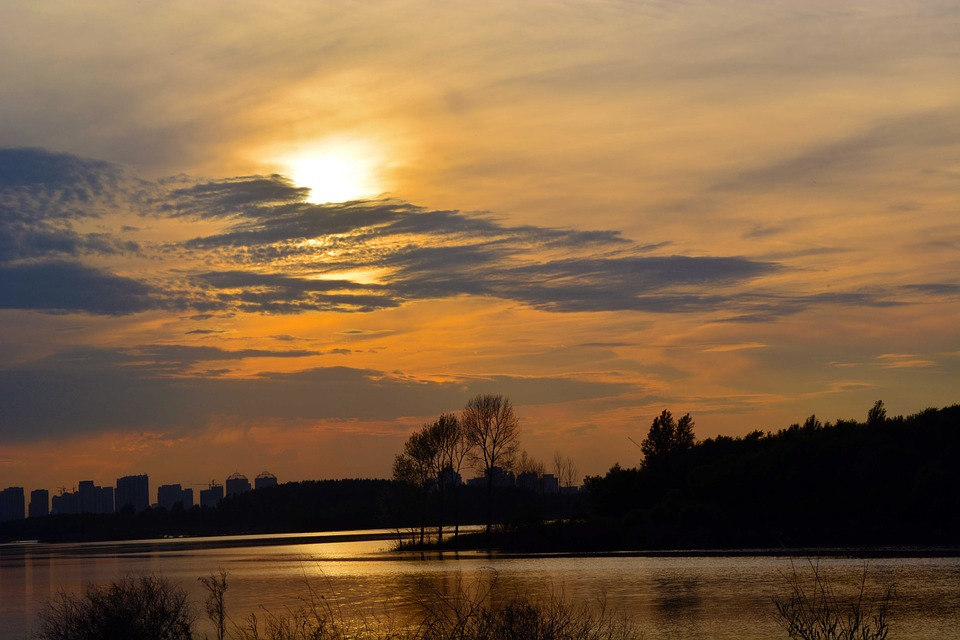 Harbin, Views, Sunset
