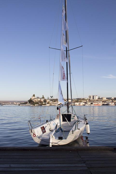 Pier, Yacht, Sea, Coast, Boat, Sky, Harbor, Sail