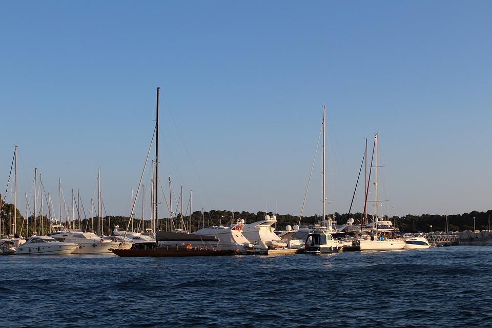 Yacht, Sailboat, Water, Sea, Harbor