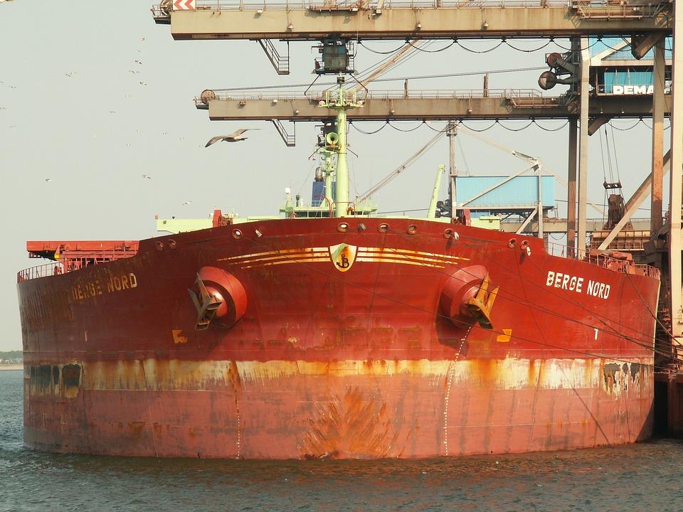 Berge Nord, Port, Rotterdam, Ship, Terminal, Harbor