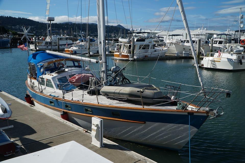 Yacht, Dock, Harbor, Sea, Water, Ocean, Travel, Marina