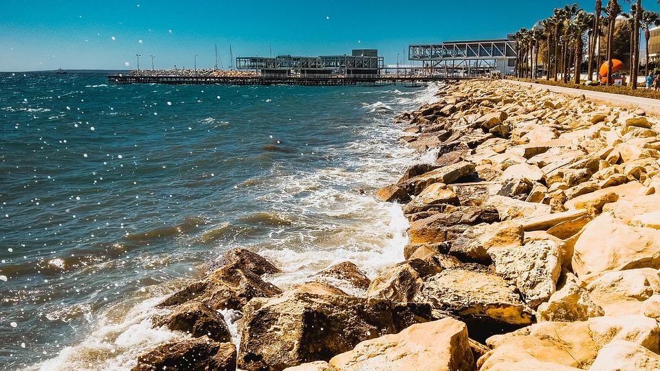 Pier, Port, Waves, Harbor, Sea