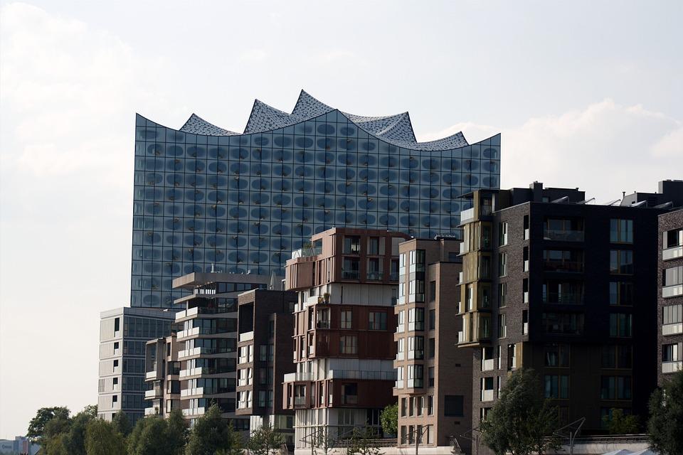 Hamburg, Elbe Philharmonic Hall, Harbour City