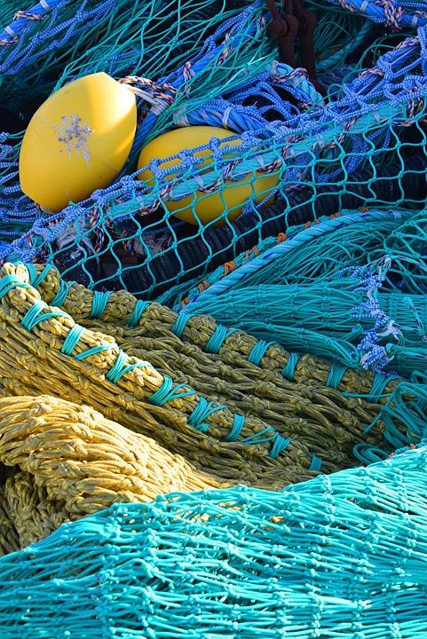 Texture, Net, Fishing, Mesh, Color, Float, Harbour
