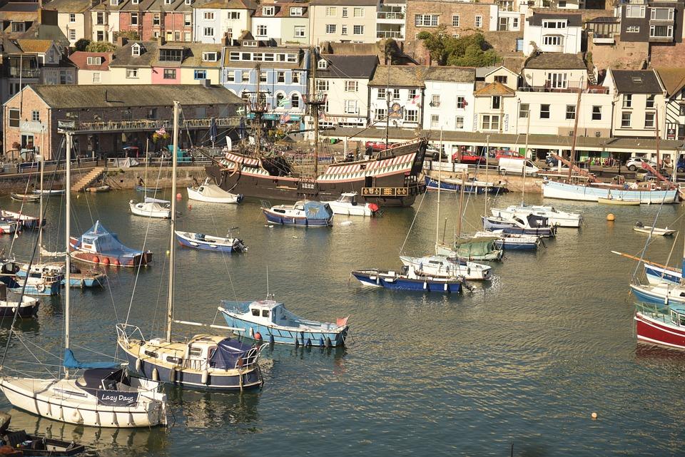 Brixham, Harbour, Scene, England