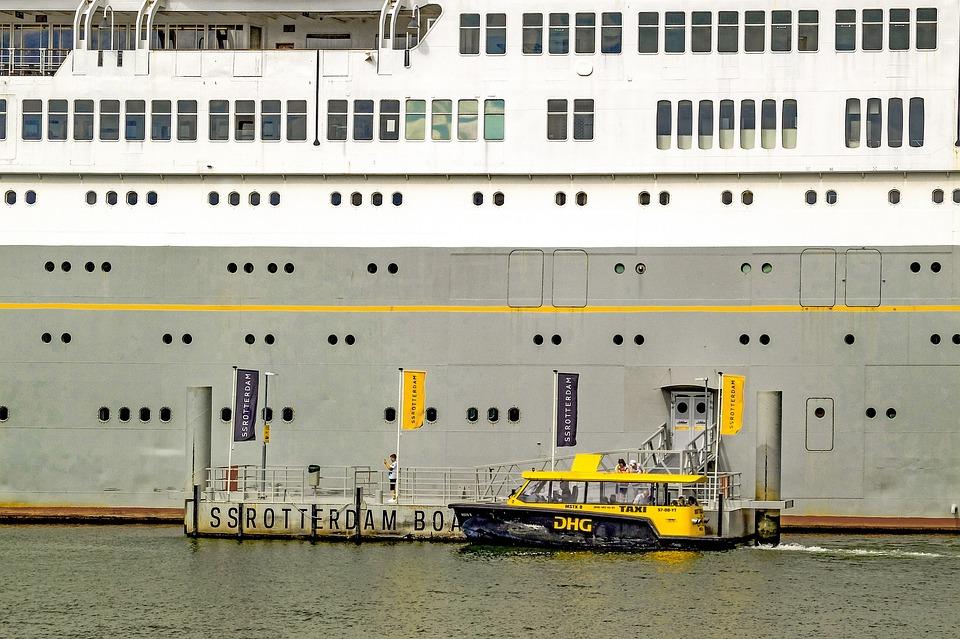Vessel, Boat, Ship, Taxi, Harbour, Port, Marine