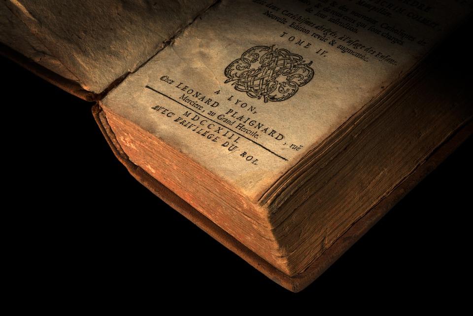 Old, Book, Literature, Hardback, Hardbound, Hardcover