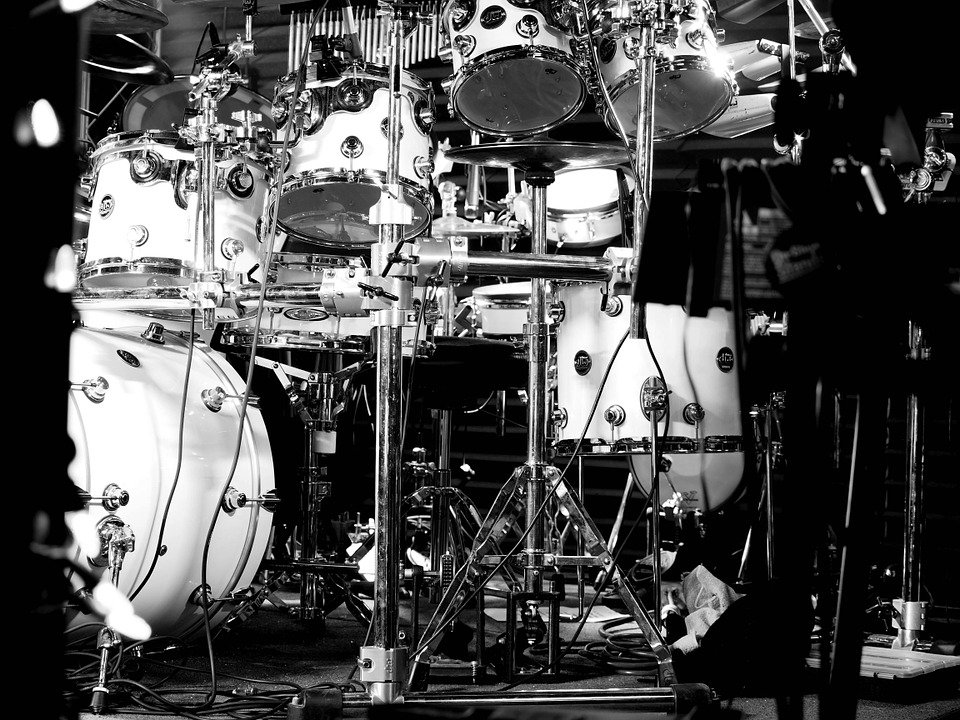 Drums, Music, Hardware, Rock And Roll