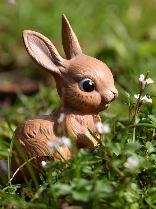 Easter Bunny, Bunny, Easter, Hare, Figure, Cute