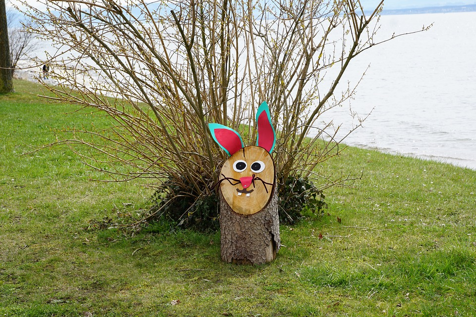 Lake Constance, Meersburg, Hagnau, Hare, Decoration