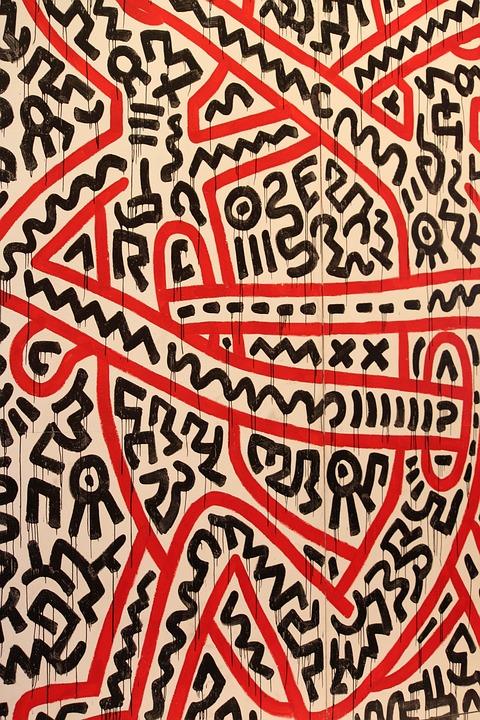 Haring, Artist, Street, Urban