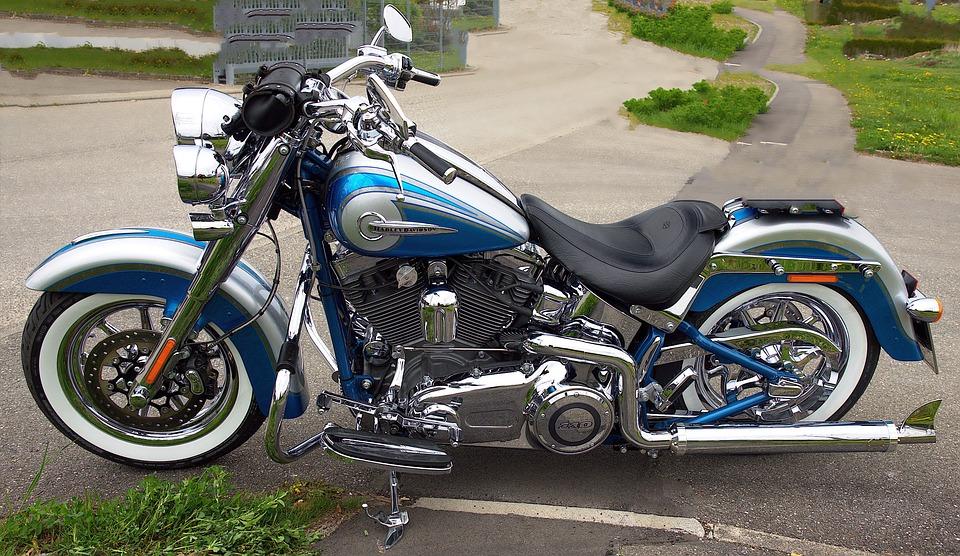 Background, Motorcycle, Harley, Chrome, Technology