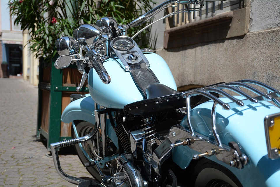 Motorcycle, Harley, Harley Davidson, Chrome