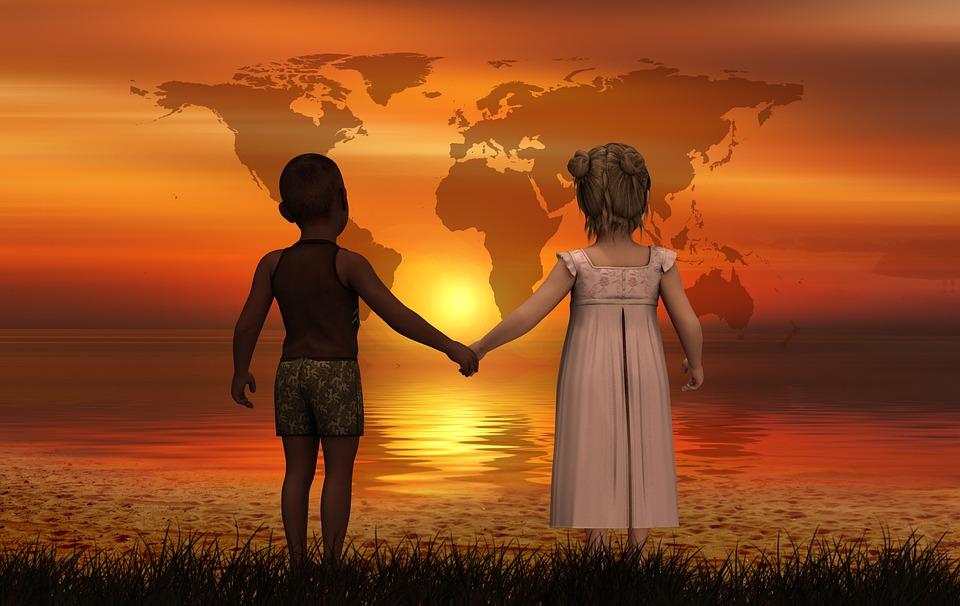 Children, Forward, Skin Color, Harmony, Line