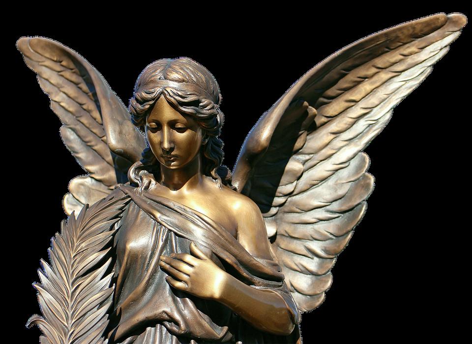 Statue, Sculpture, Bronze, Angel, Harmony, Wing, Figure