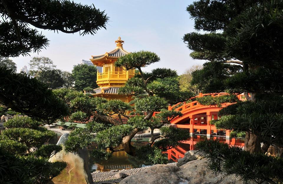 China, Temple, Hongkong, Bhuda, Harmony