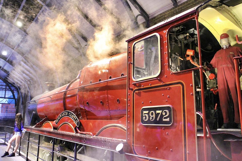 Harry Potter, Hogwarts Express, Hogwarts