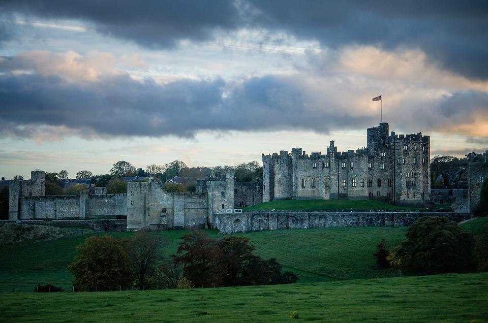 Castle, Harry Potter, Hogwarts, Alnwick, Northumberland