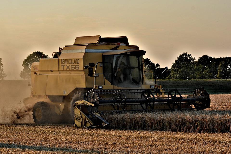 Harvester, Straw Harvest, New Holland Tx66