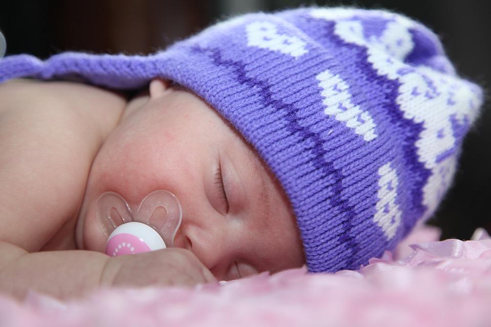 Baby, Maine-ah Baby, Hat, Sleeping Baby, Child, Sleep