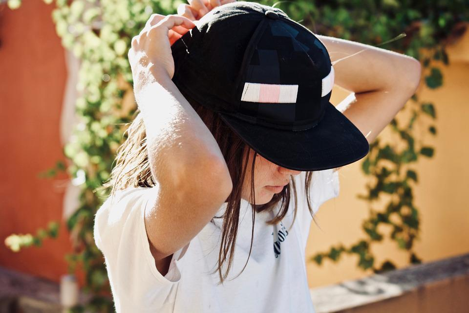 Girl, Hat, Cap, Protection, Summer, Woman, Gorgeous