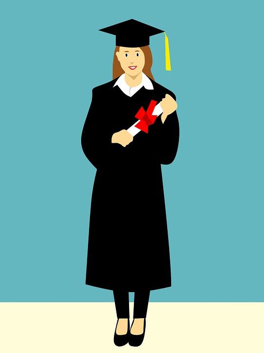Free photo Hat Cap Happy Graduation College Gown Joyful - Max Pixel