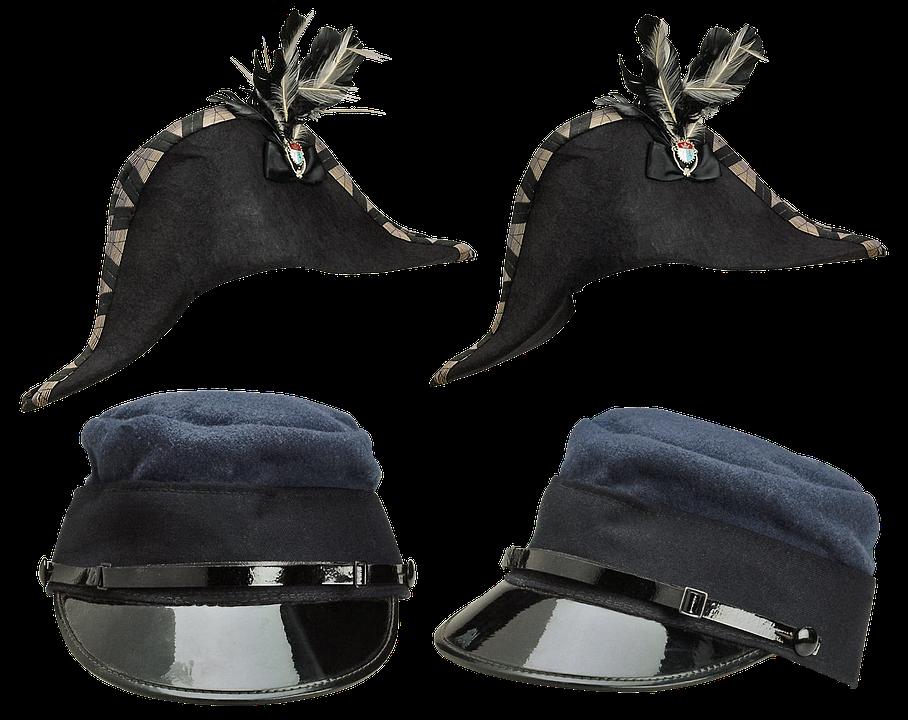 Hat, Duopoly Officer, Headdress, Shaped Cap, Rogatywka