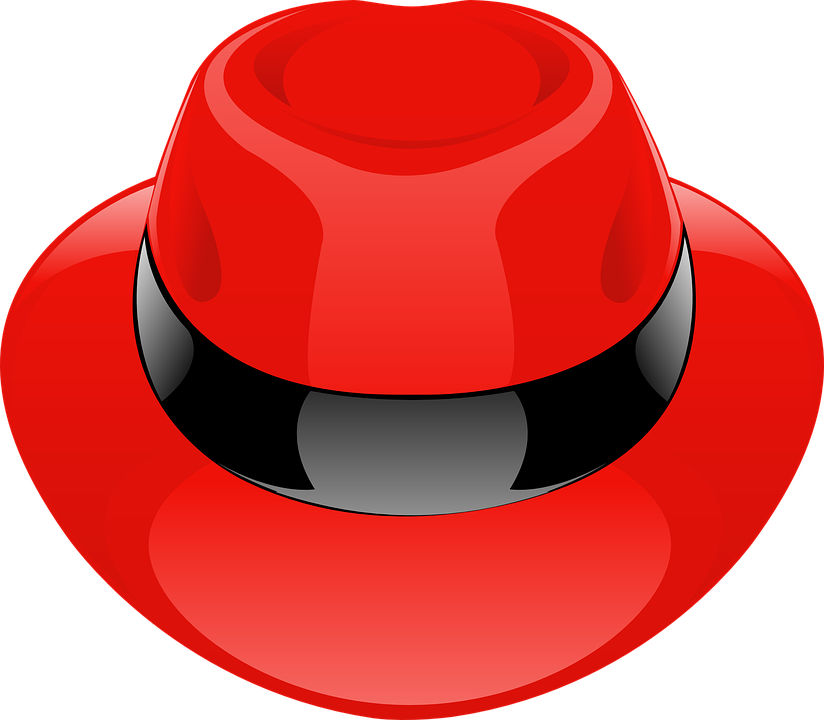 Hat, Red, Fedora