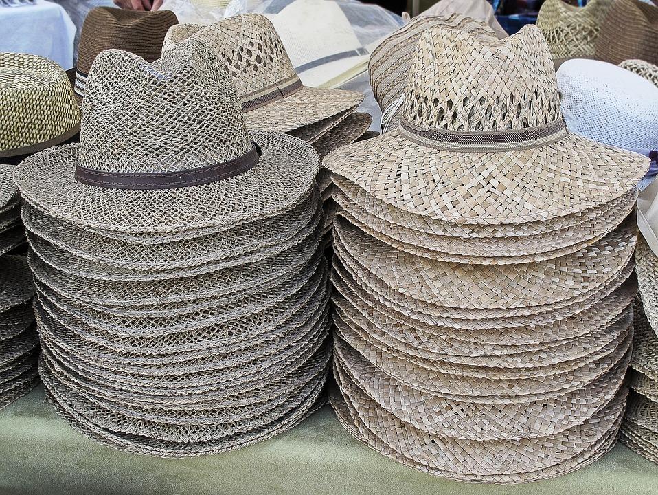 Straw Hat, Summer Hat, Hats, Hat, Sun Protection