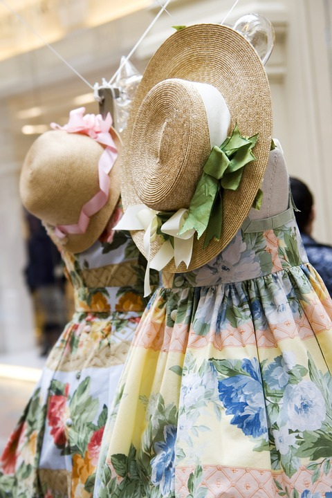 Clothing, Shop, Dresses, Hats, Summer, Children