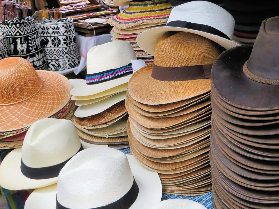 Otavalo, Market, Hats, Ecuador
