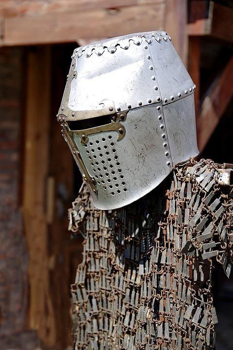 Armor, Hauberk, Helmet, Knight, Knighthood