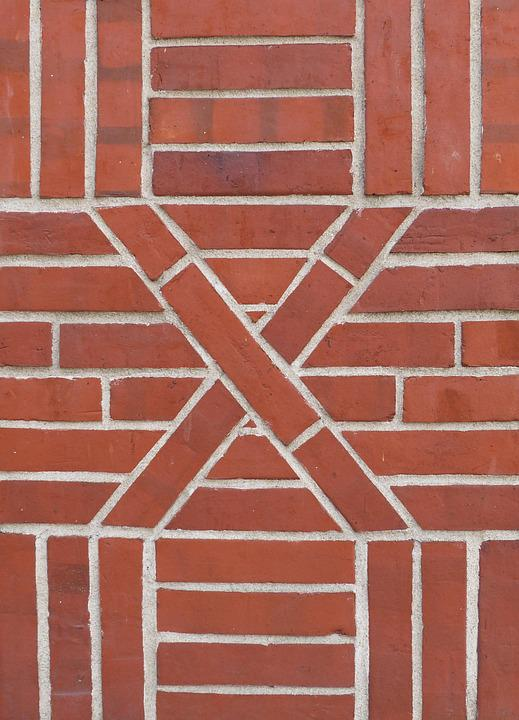Brick, Clinker, Pattern, Hauswand, Facade, Structure