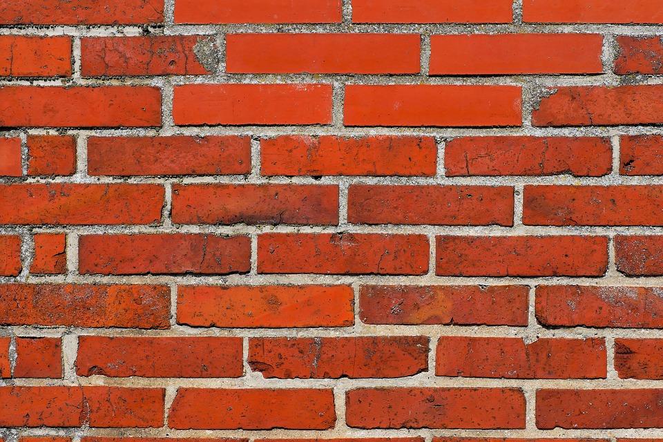 Wall, Hauswand, Stone Wall, Facade, Red, Bricks
