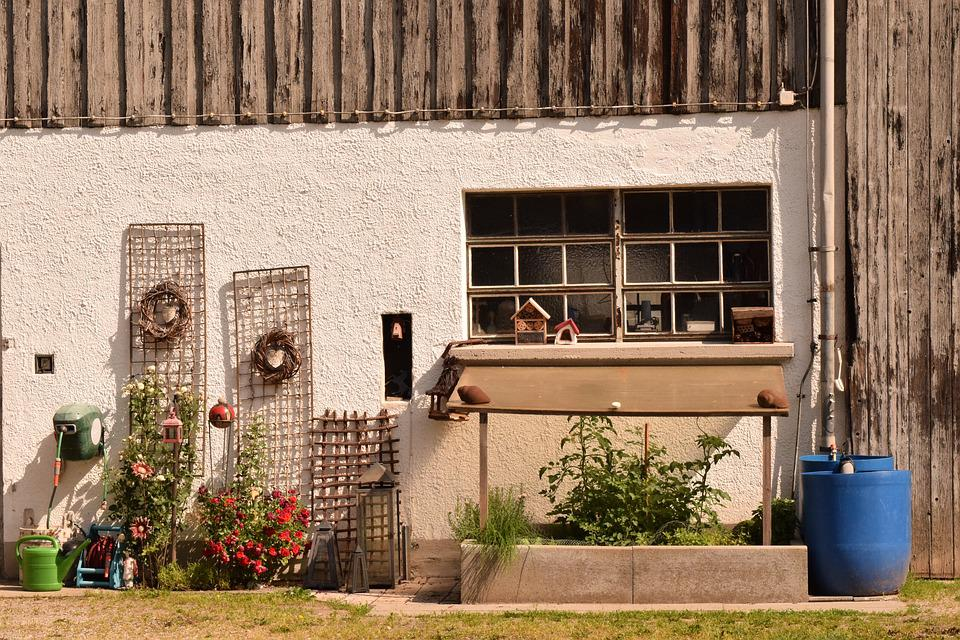 Hauswand, Housewife, Rural, Decoration