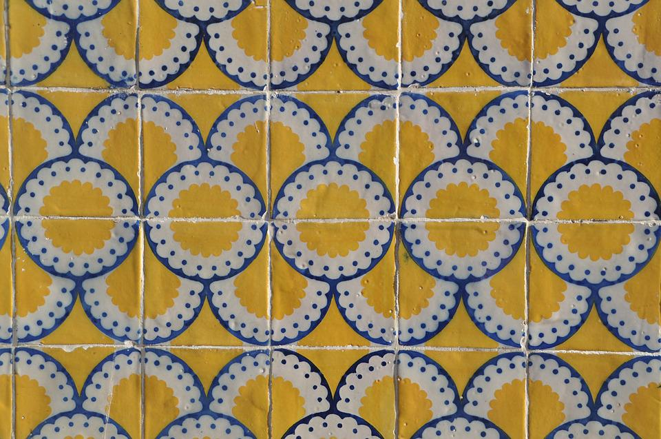 Tile, Hauswand, Portugal, Housewife