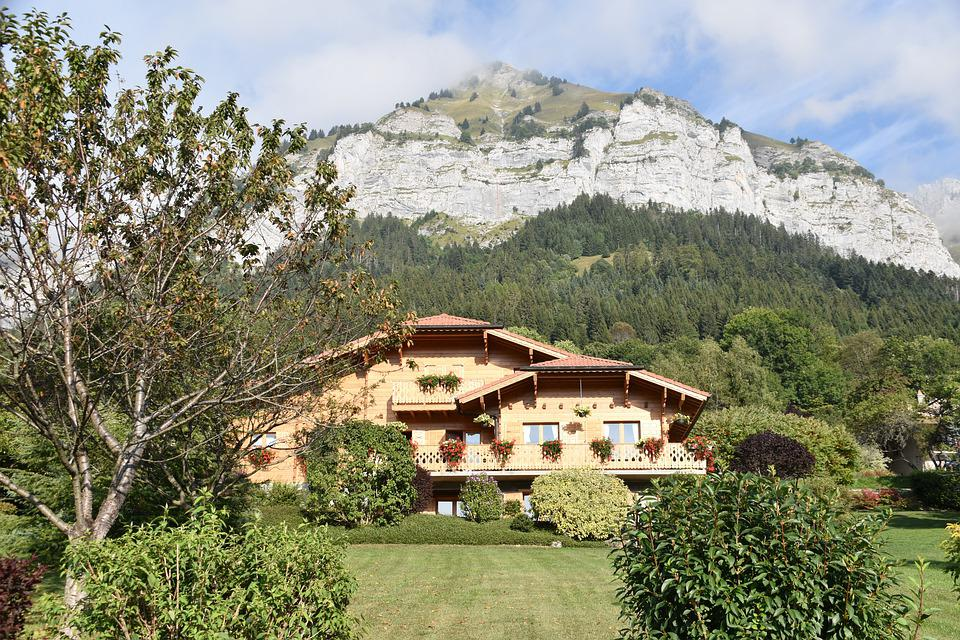 Mountain, Wooden Chalet, Panoramic Views, Haute Savoie