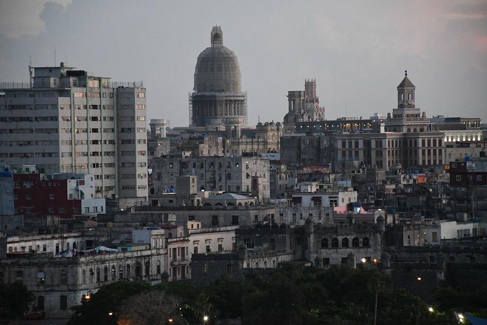 City, Cuba, Havana, Architecture, Historical, Buildings