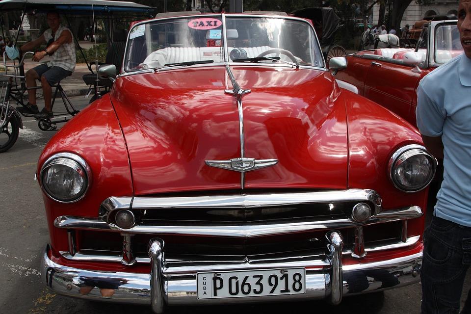 Cuba, Old Cars, Oldsmobile, Havana