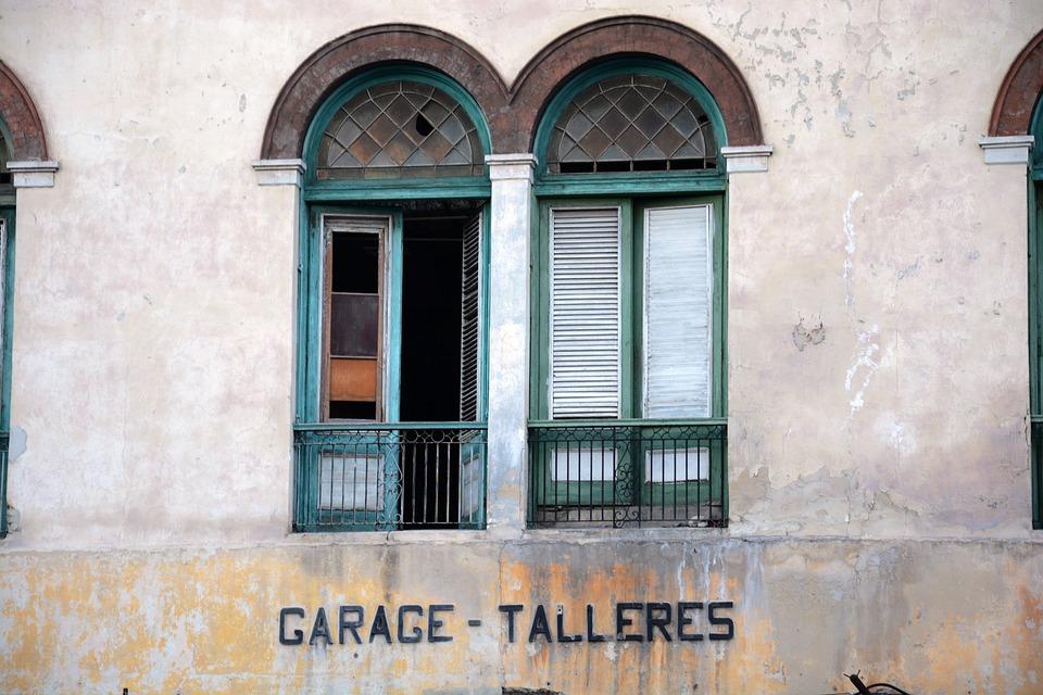 Colonial Style, Window, Facade, Cuba, Havana