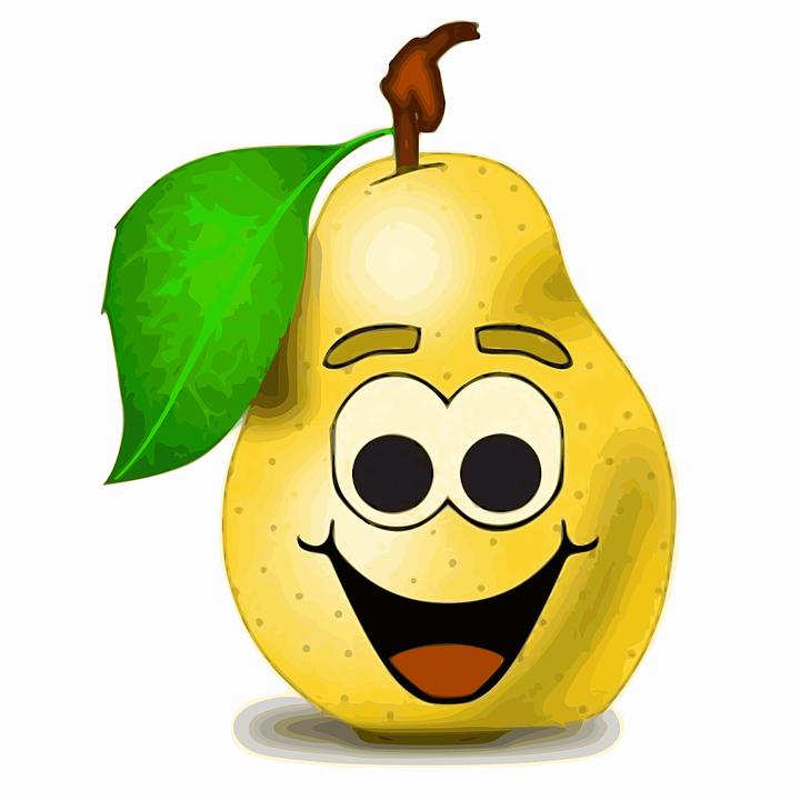 Expressions Françaises, Have Good Laugh, Pear